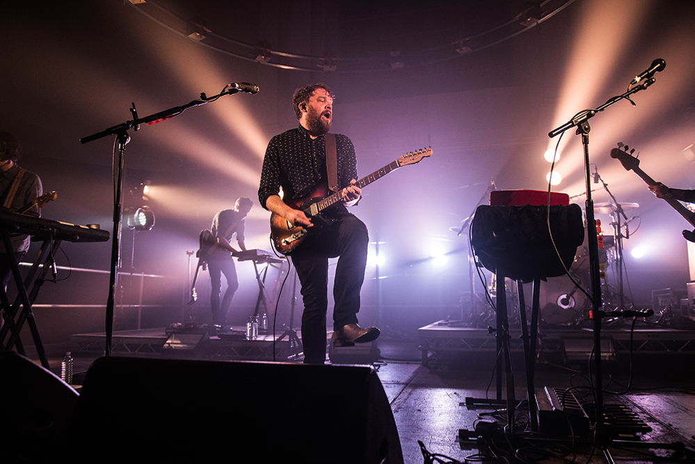 Scott Hutchison - Frightened Rabbit et Mastersystem