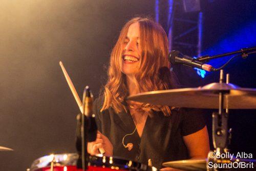 Shock Machine en concert au Inrocks Festival, à La Boule Noire, à Paris, le 19 novembre 2016