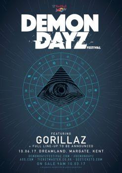 Demon Dayz Festival - Gorillaz