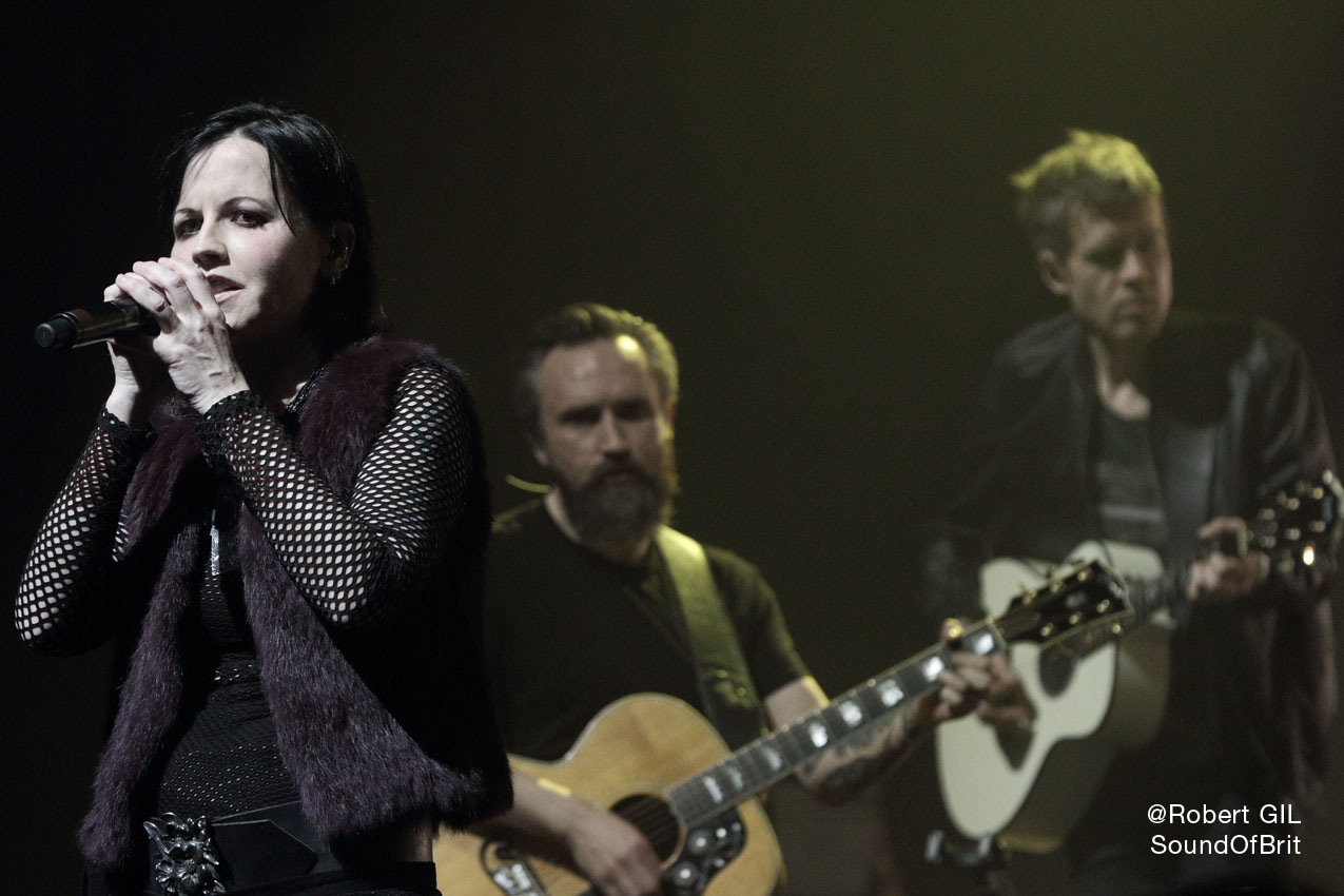 The Cranberries à l'Olympia en 2017