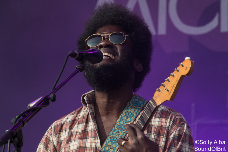 Michael Kiwanuka au Festival Beauregard le 9 juillet 2017
