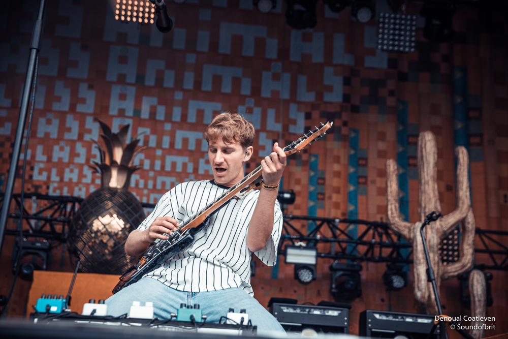 Glass Animals à Lollapalooza