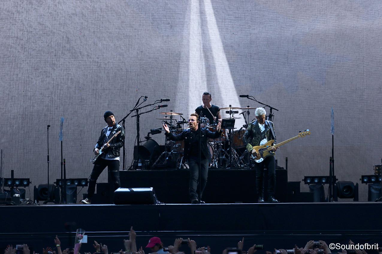 U2 Fait Chavirer Le Stade De France