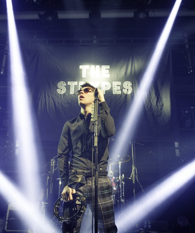 THE STRYPES en concert à la Gaîté Lyrique, à Paris, le 31 janvier 2018