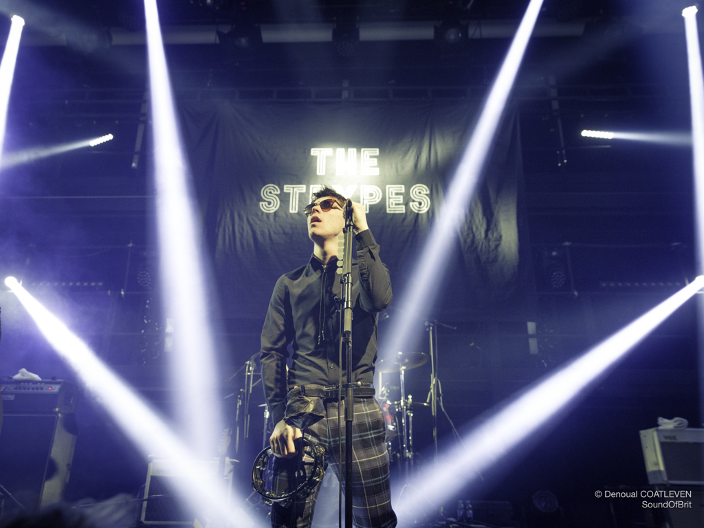 THE STRYPES en concert à la Gaîté Lyrique, à Paris, le 31 janvier 2018