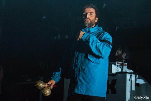 Liam Gallagher à l'Olympia, Paris, le 2 mars 2018