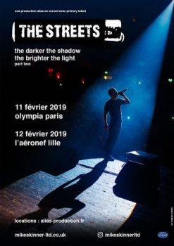 Dates tournée the Streets