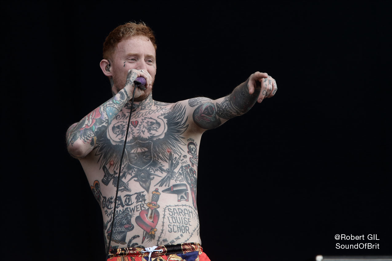 FRANK CARTER AND THE RATTLESNAKES - Download festival