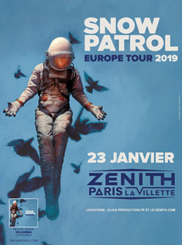 Snow Patrol 2019 Paris