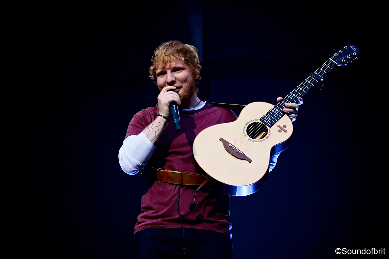 Ed Sheeran au stade de France