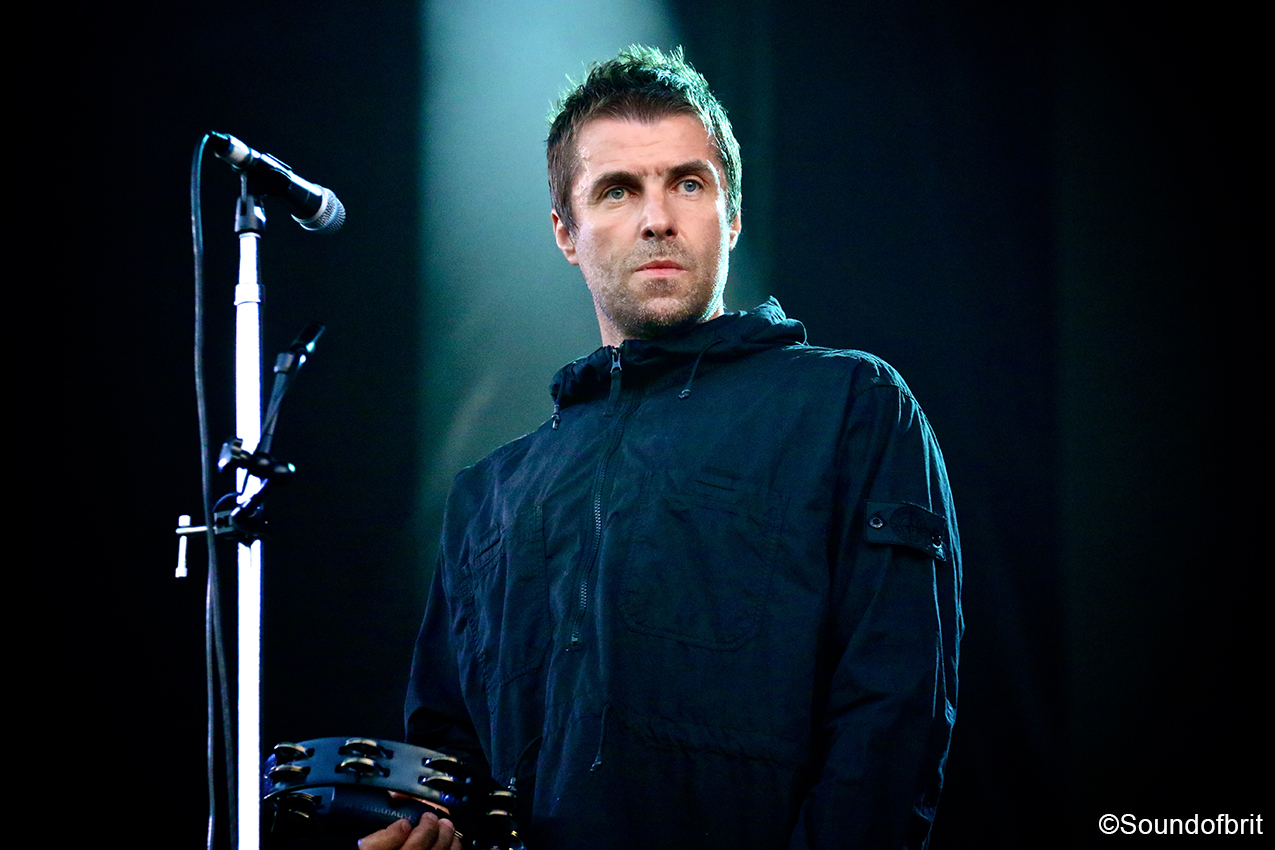 Liam Gallagher au Sziget festival