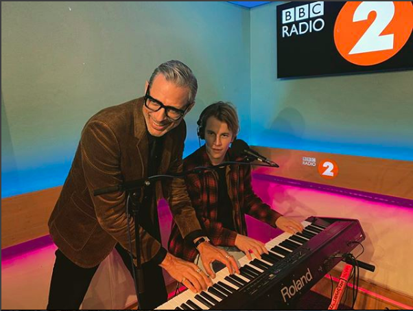 Tom Odell Jeff Goldblum
