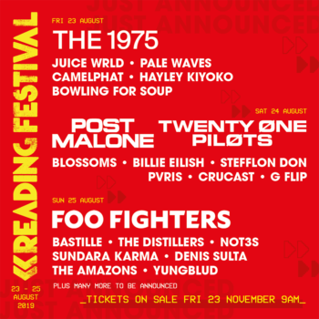 Reading & Leeds 2019 - Line up