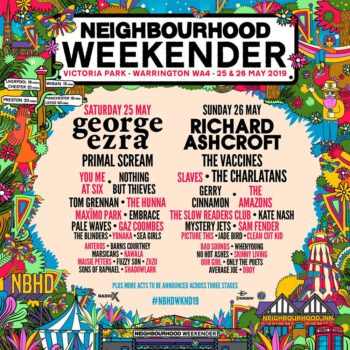 Affiche 2019 Neighbourhood Weekender