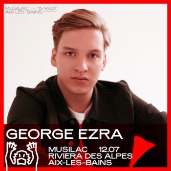 George Ezra à Musilac 2019