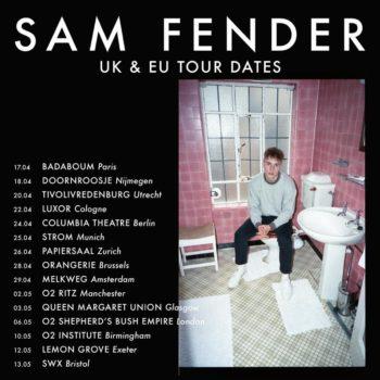 Sam Fender EU Tour 2019