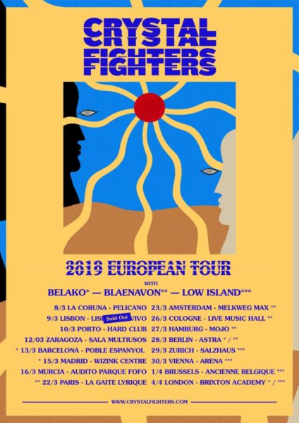 tournée Crystal Fighters + Blaenavon