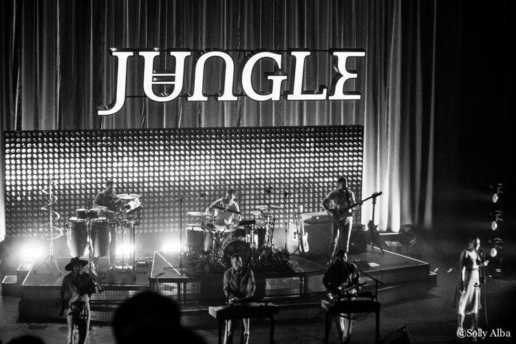 Jungle à l'Olympia le 24 février 2019