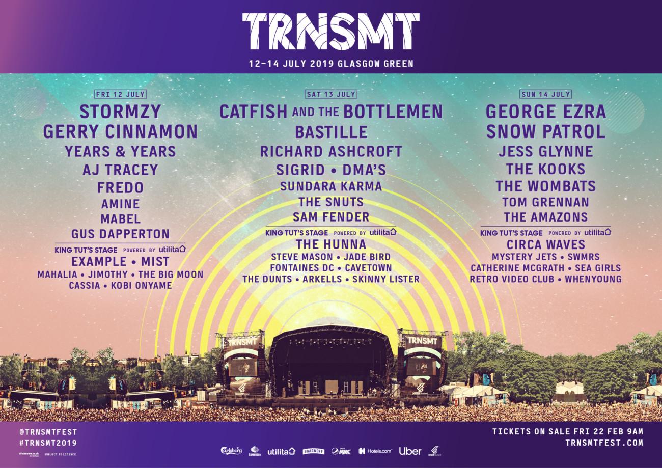 TRNSMT-2019-poster