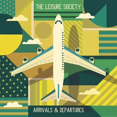 Cover THE LEISURE SOCIETY - Overheard