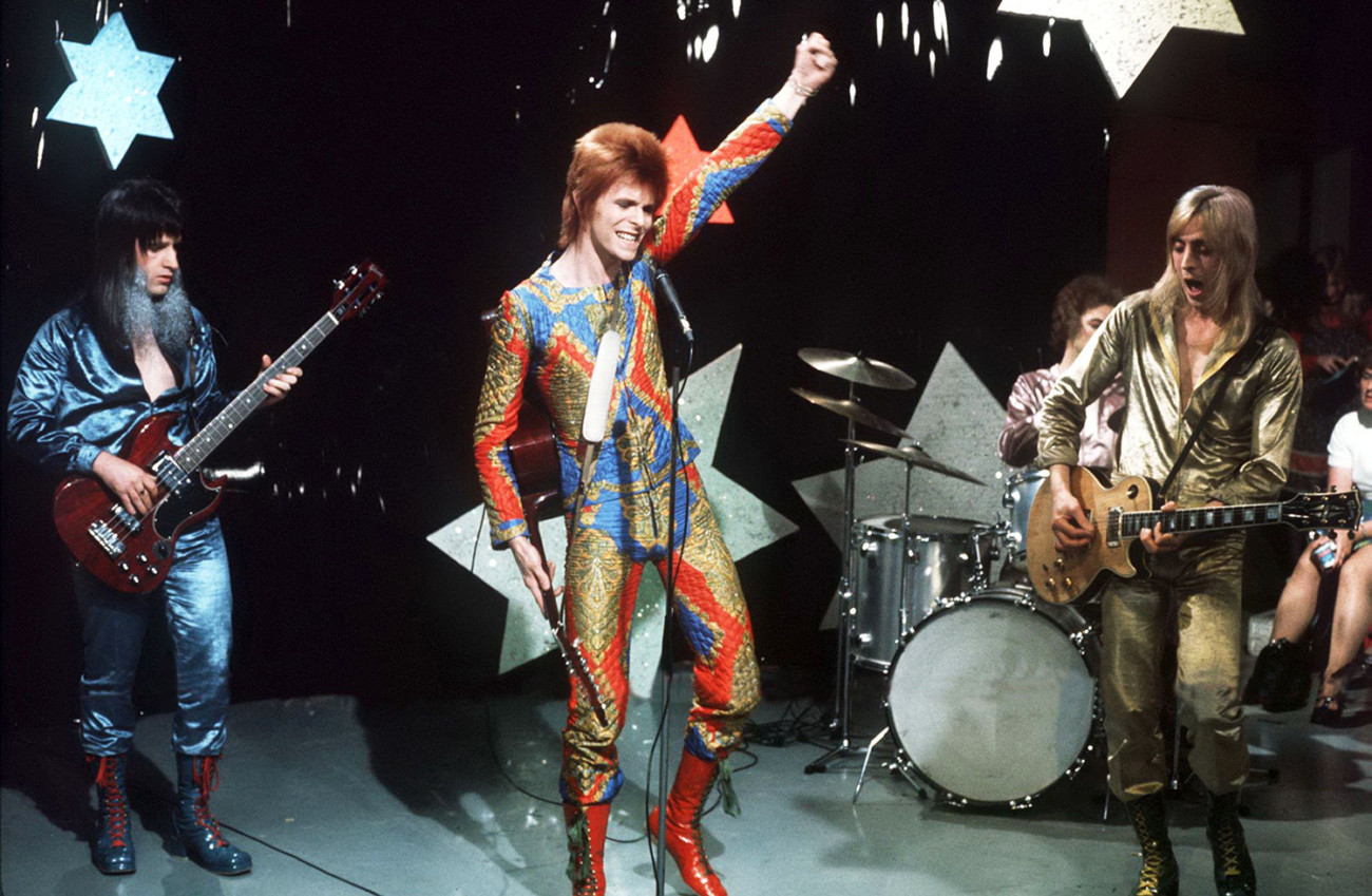 David Bowie - ITV/Rex Features