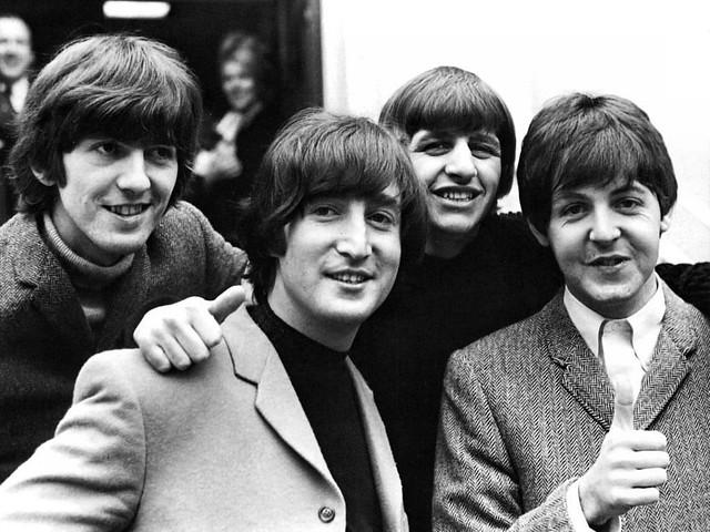 John Lennon, Paul McCartney, Ringo Starr et George Harrison, les Beatles