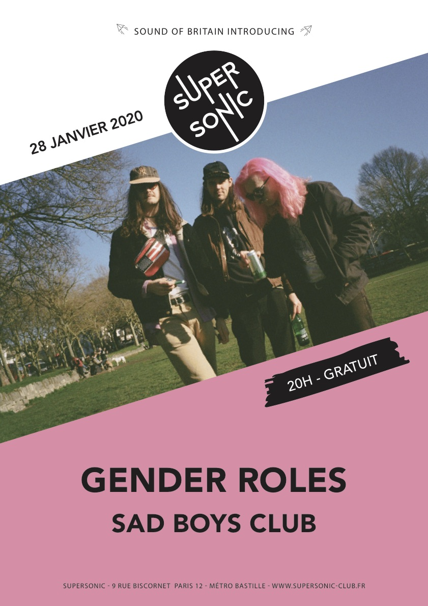 Affiche de Gender Roles au Supersonic