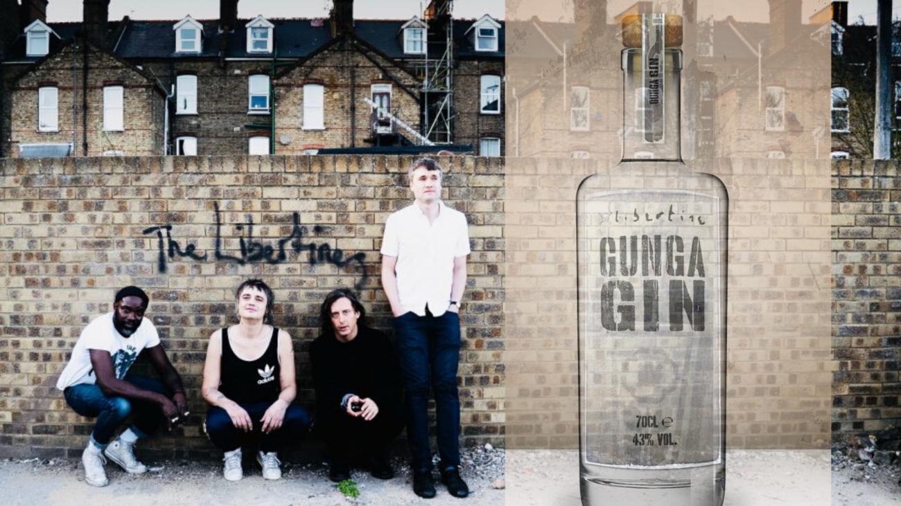 Le Gunga Gin, le gin des Libertines
