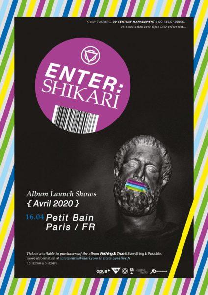 Enter Shikari au petit bain