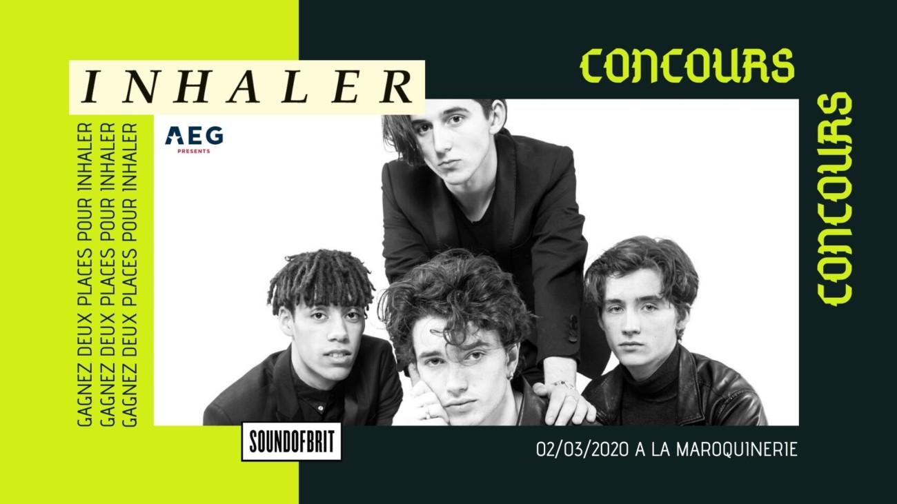 Concours Inhaler à La Maroquinerie Paris
