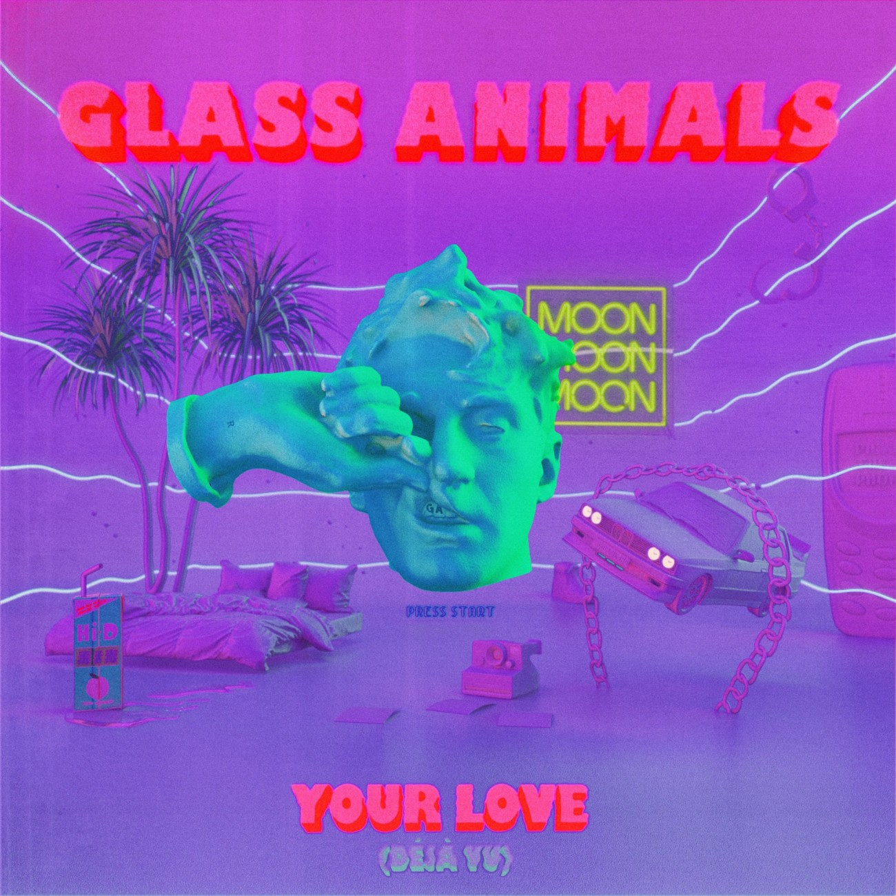 Image du morceau Your Love (Déjà Vu) de Glass Animals