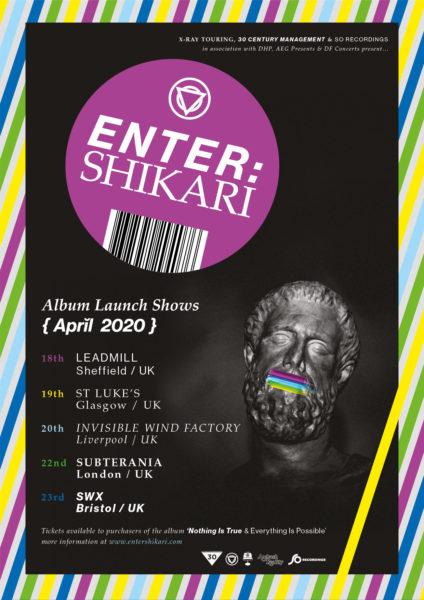 Enter Shikari dates