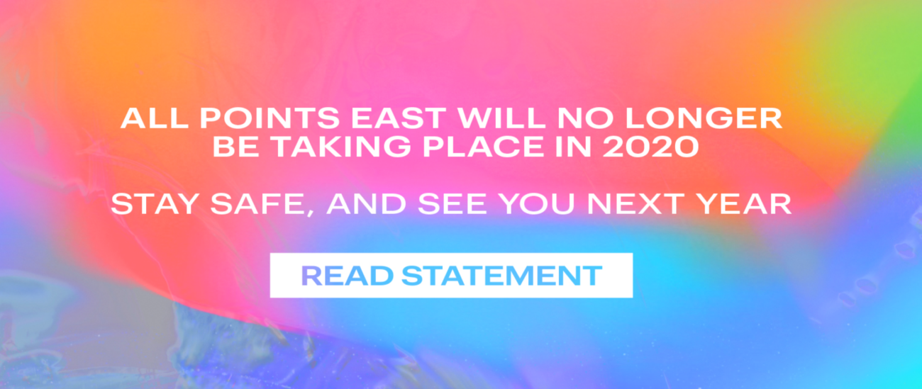 All Points East 2020 est annulé