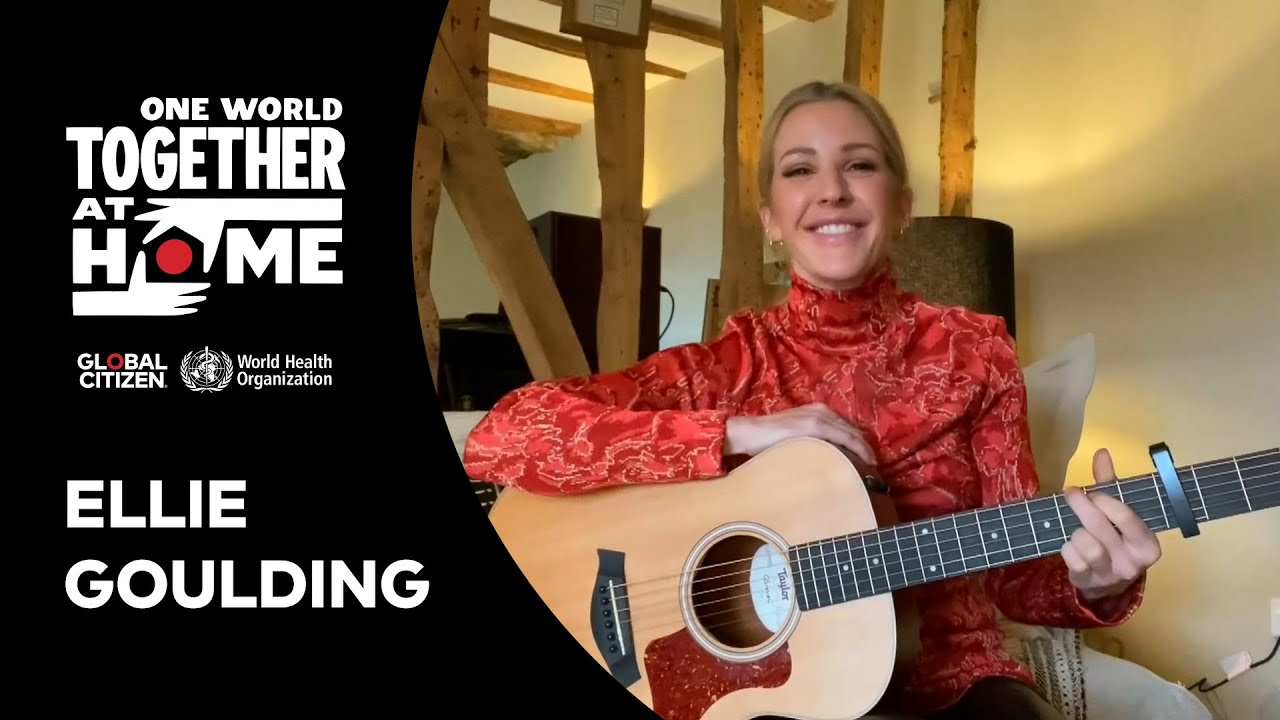 Ellie Goulding pour One World Together At Home