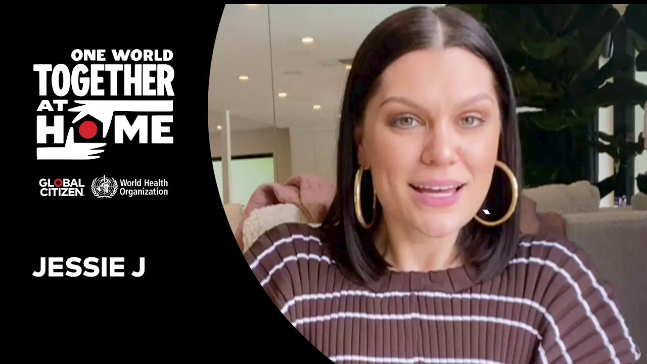 Jessie J pour One World Together At Home