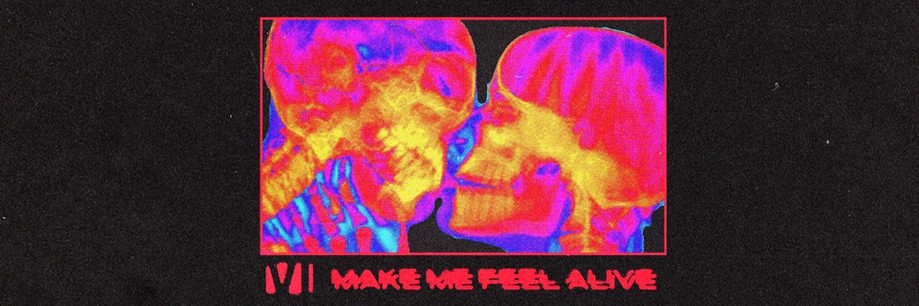 You Me At Six - MAKE ME FEEL ALIVE ARTWORK