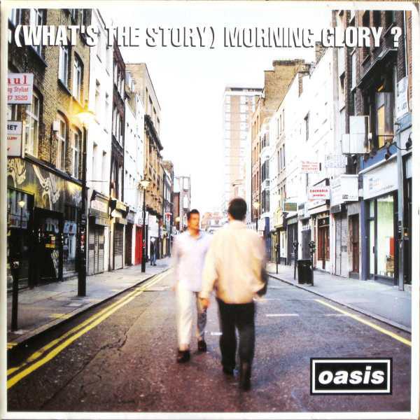 Pochette de l'album (What's The Story) Morning Glory? d'Oasis, 1995.