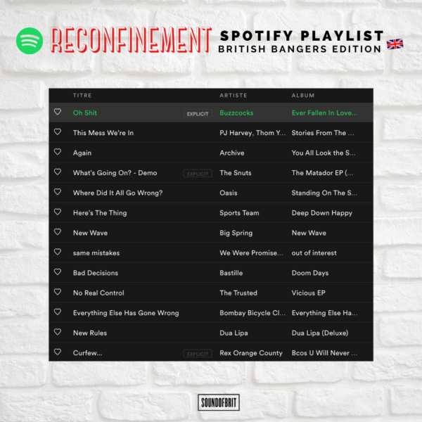 Covid19 Playlist Spotify Lockdown Confinement