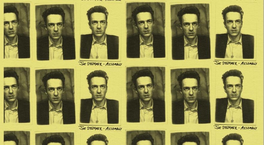 Pochette de la compilation Assembly de Joe Strummer